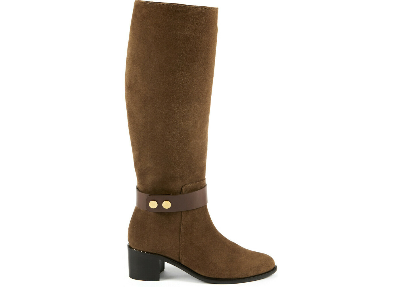 ADELIE Cognac Suede Leather P