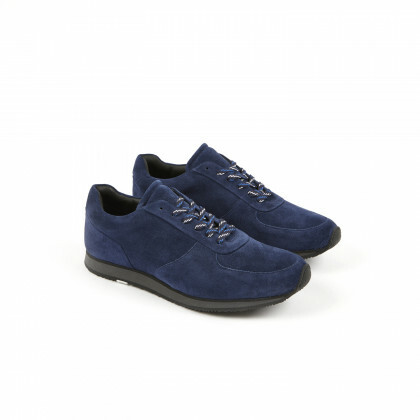 STADIUM Blu Velours Athletic Noire