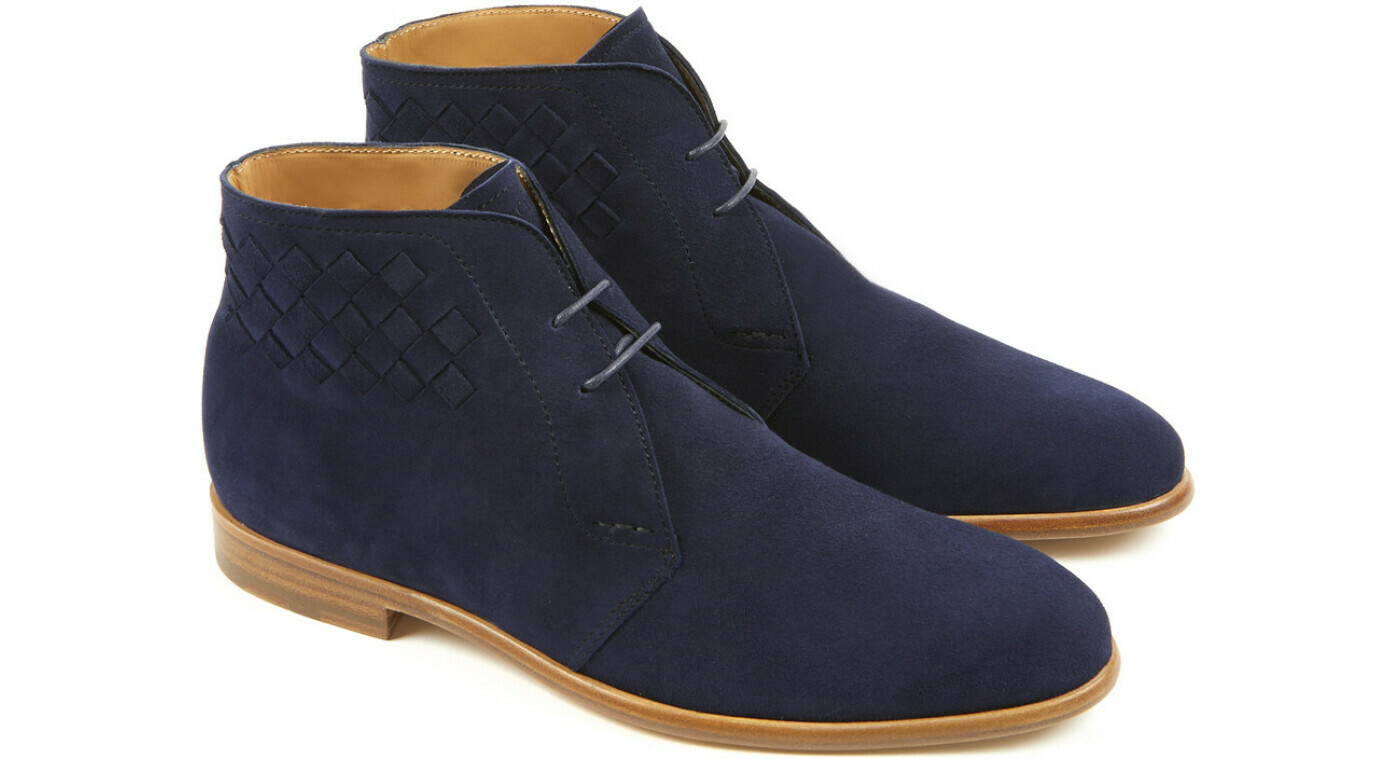 OSIER FE Navy Cachemire Leather P