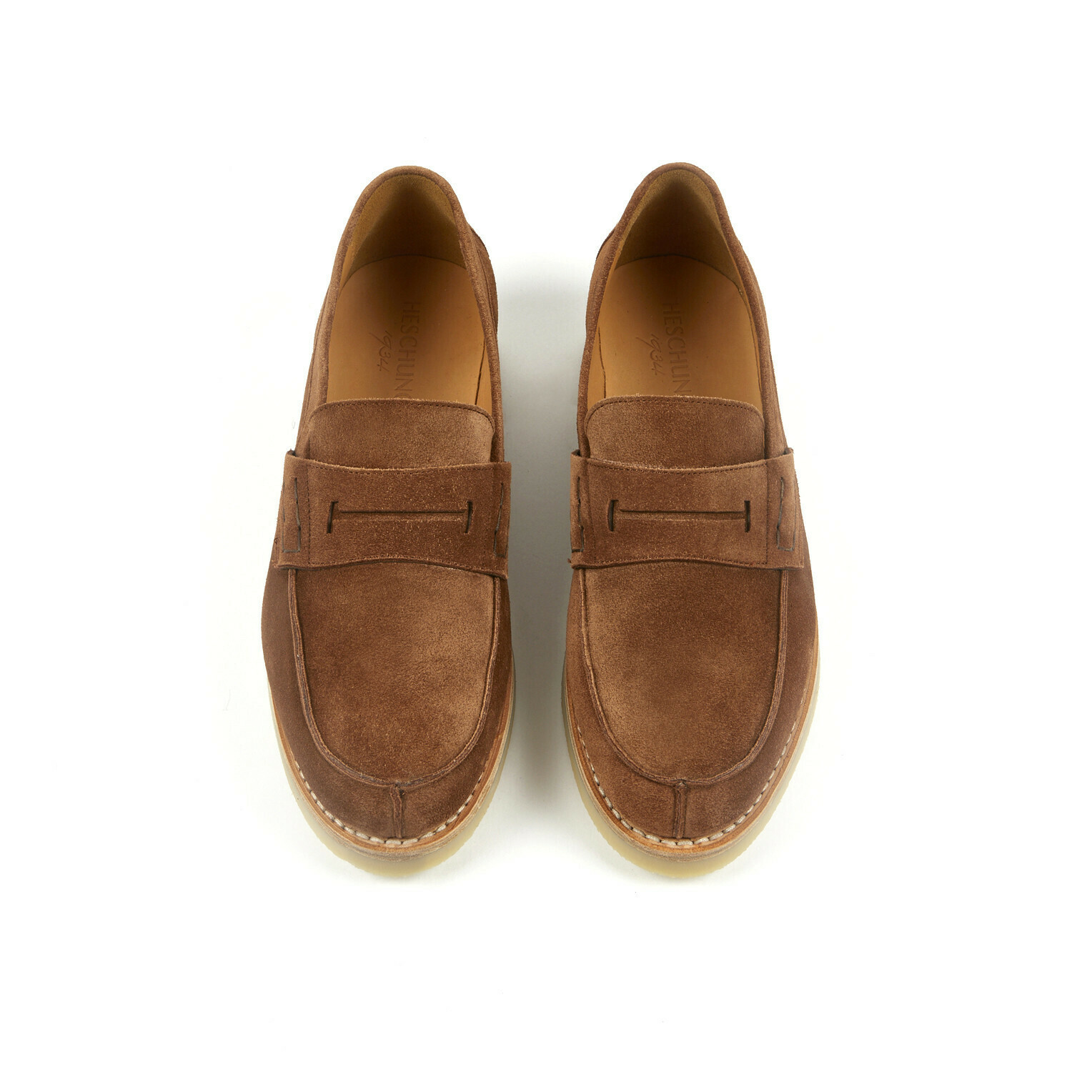 THYM Cocoa Suede Leather