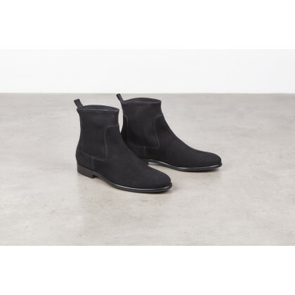 BROOKLIN Black Cachemire Cuir P