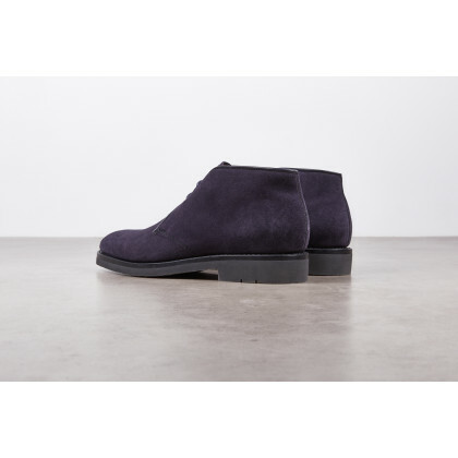 MURIER Hydrovelours Navy Hevea