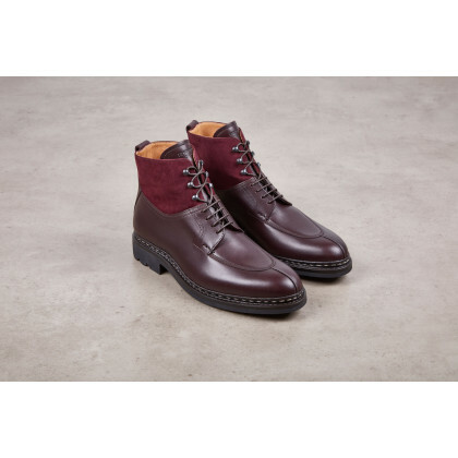 GINKGO FE Anilcalf/Cachemire Bordeaux Ravel