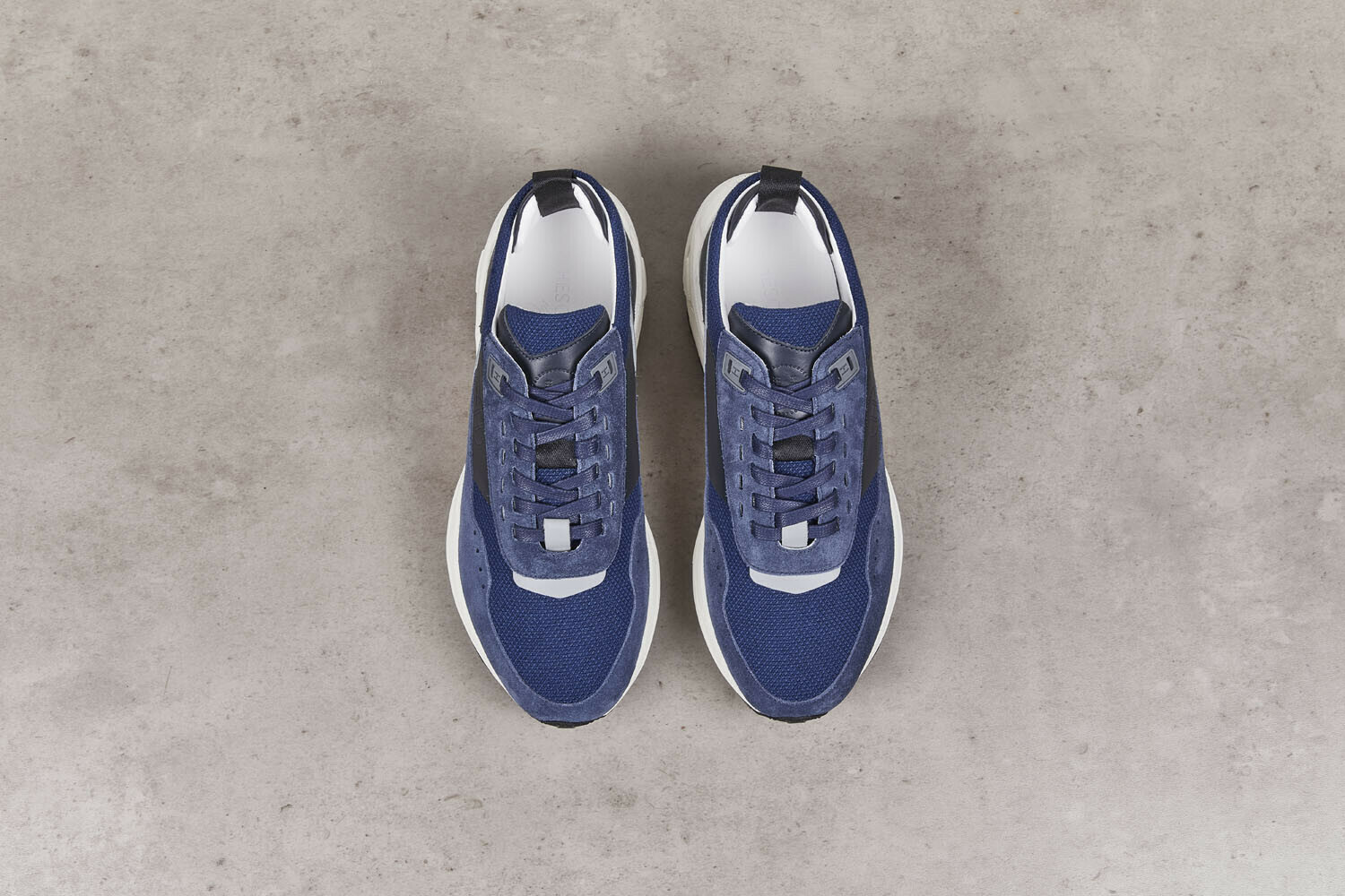 DELTA Navy Velours/Canvas Running