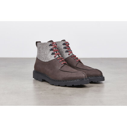 CHAMROUSSE Coffee/Greige Toundra/Wool Artic