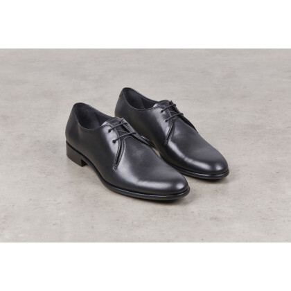 TREVISE Hydrovelours navy Cuir P