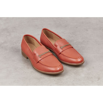 AMALFI Orange Volonato Leather
