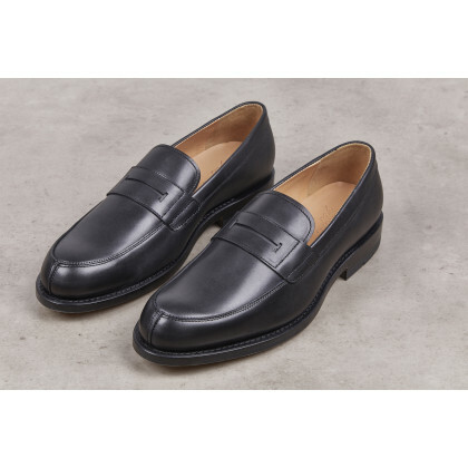 LILIUM Black Anilcalf Leather