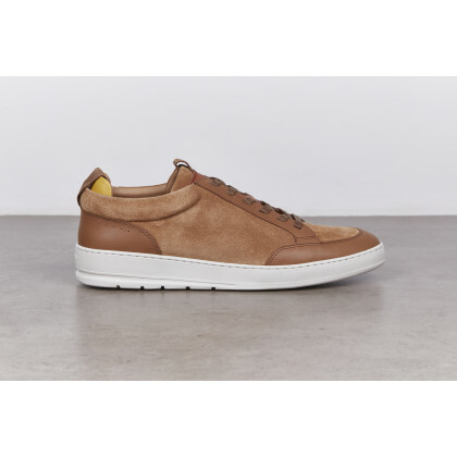 BREAK Nutmeg/Gold Suede/Naturcalf Nuage Street