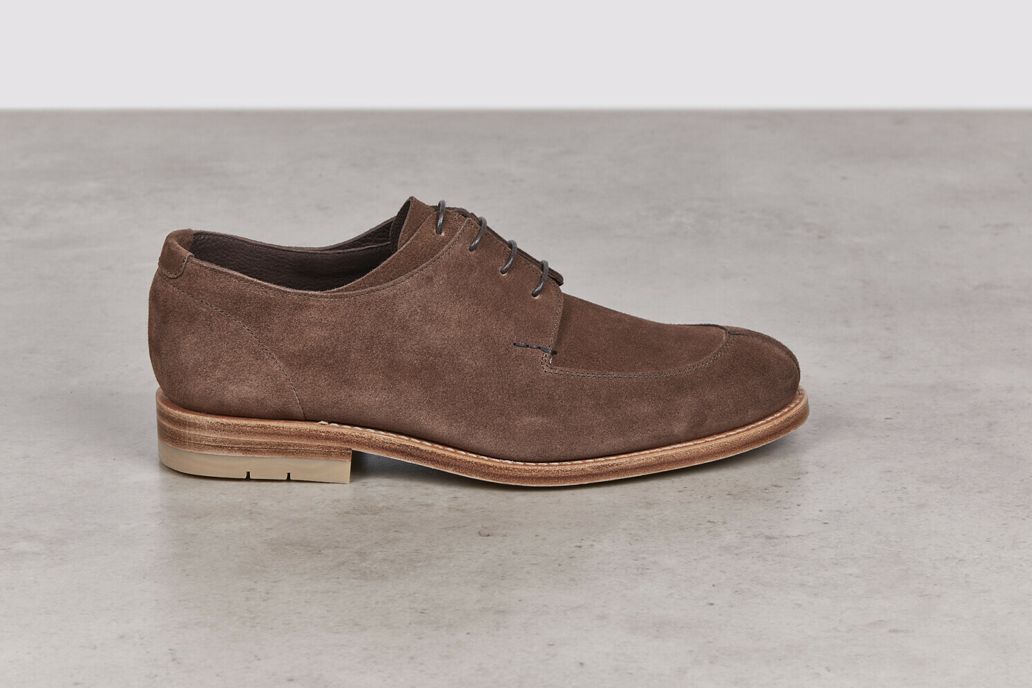SALVIA Arabica Calf Suede Leather