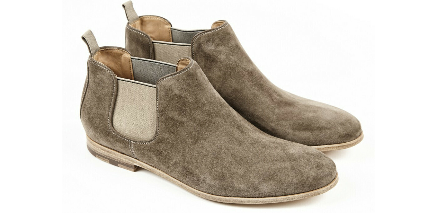 HESCHUNG - CASEY Cachemire Taupe Cuir