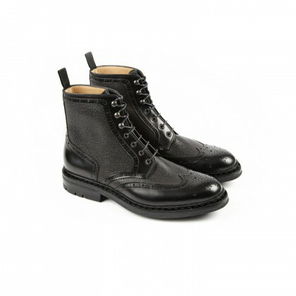 DUBLIN Windsor/Beluga Schwarz Commando