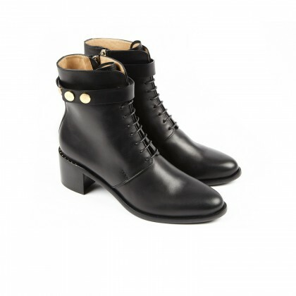 AVRIL Black Biocalf Cuir P