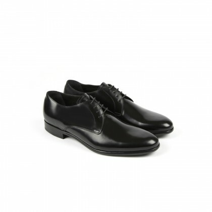 LUGANO Black Windsor Cuir