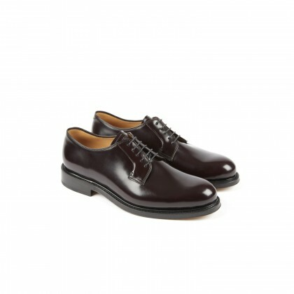 ORME Windsor Aubergine Double Cuir