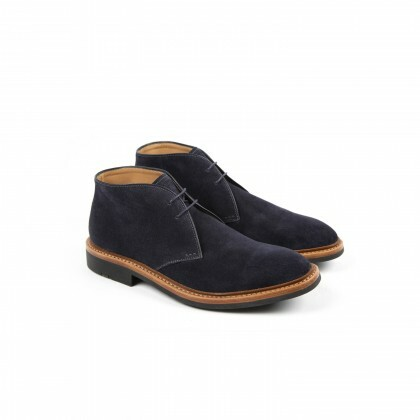 GENET Navy Hydrovelours Puccini