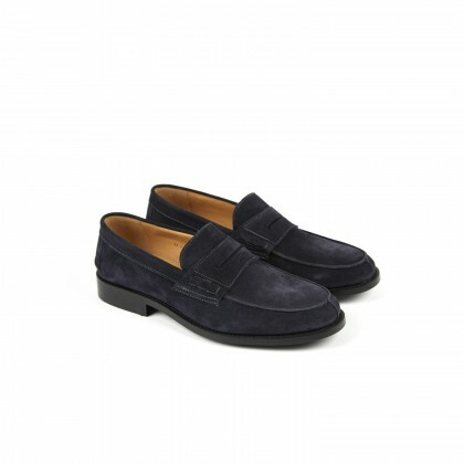 THYM Hydrovelours Navy Cuir