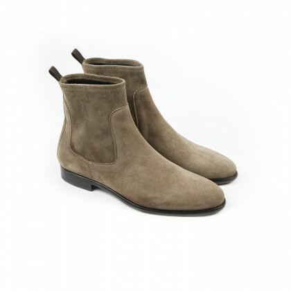 BROOKLIN Cachemire Taupe Cuir P