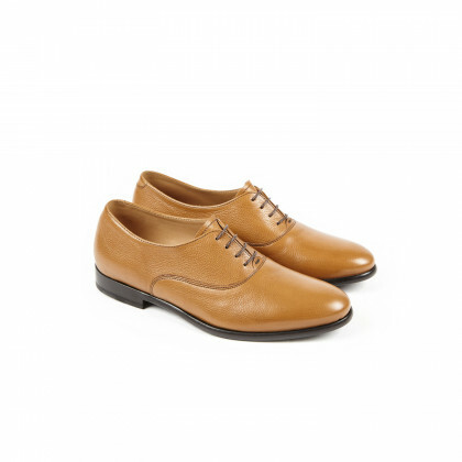 RUBIS Ginger Moutarde Cuir P