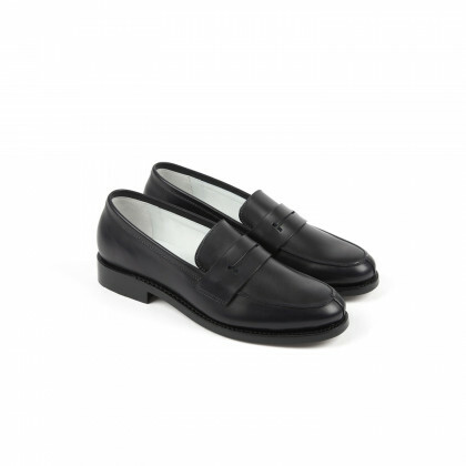 CHESTER Navy Anilcalf Cuir