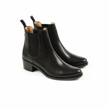 MEGAN Black Anilcalf Cuir