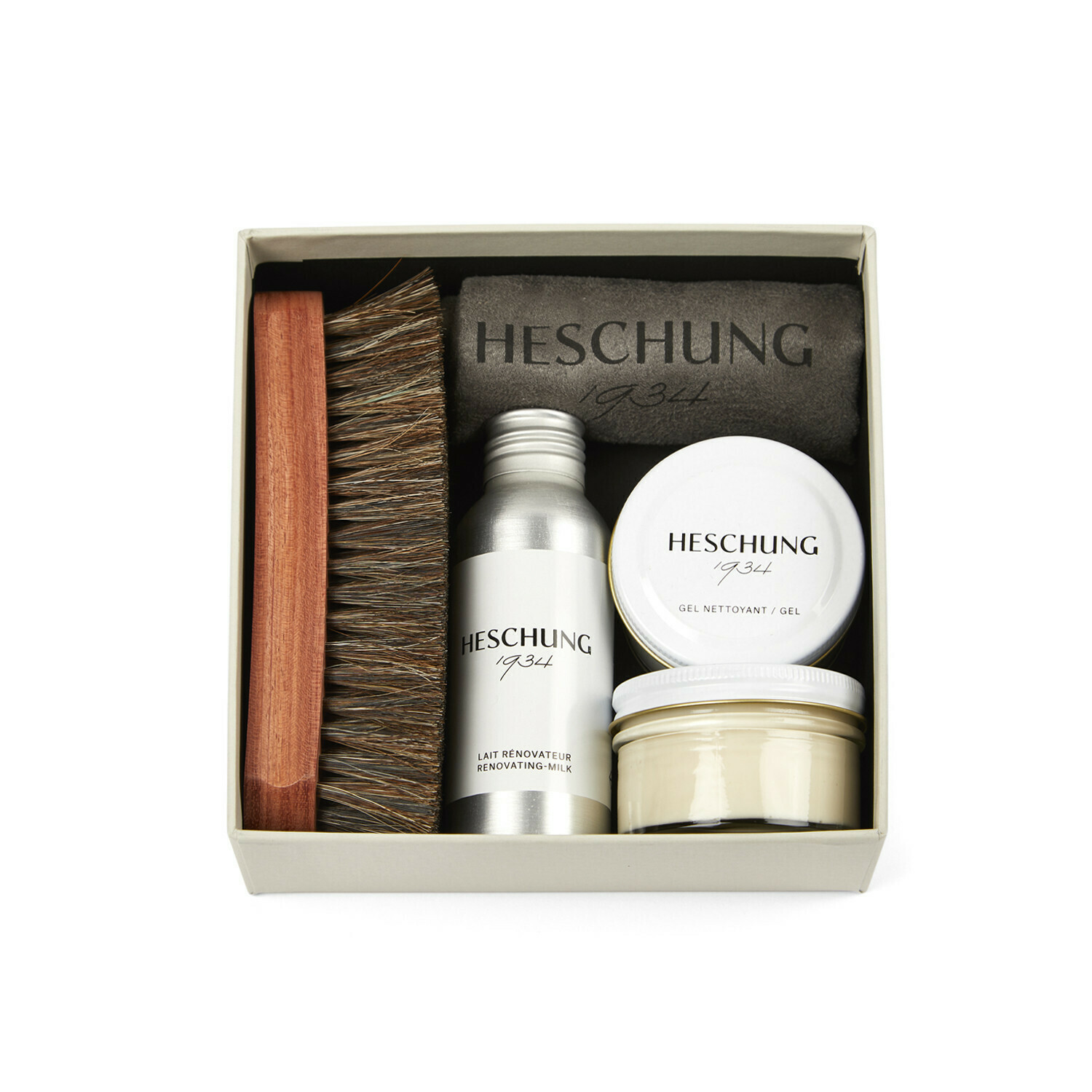 Colourless Kit for shoe care