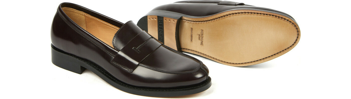 CHESTER Windsor aubergine Cuir