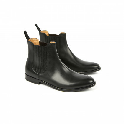 MURRAY Black Genova Cuir P