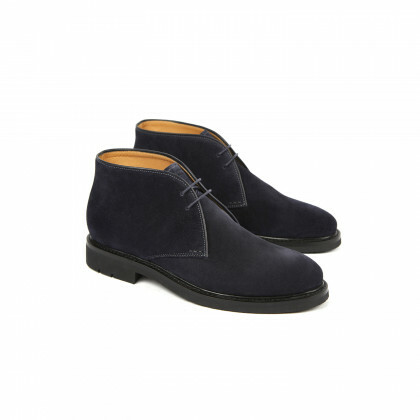 GENET FE Hydrovelours Navy Hevea
