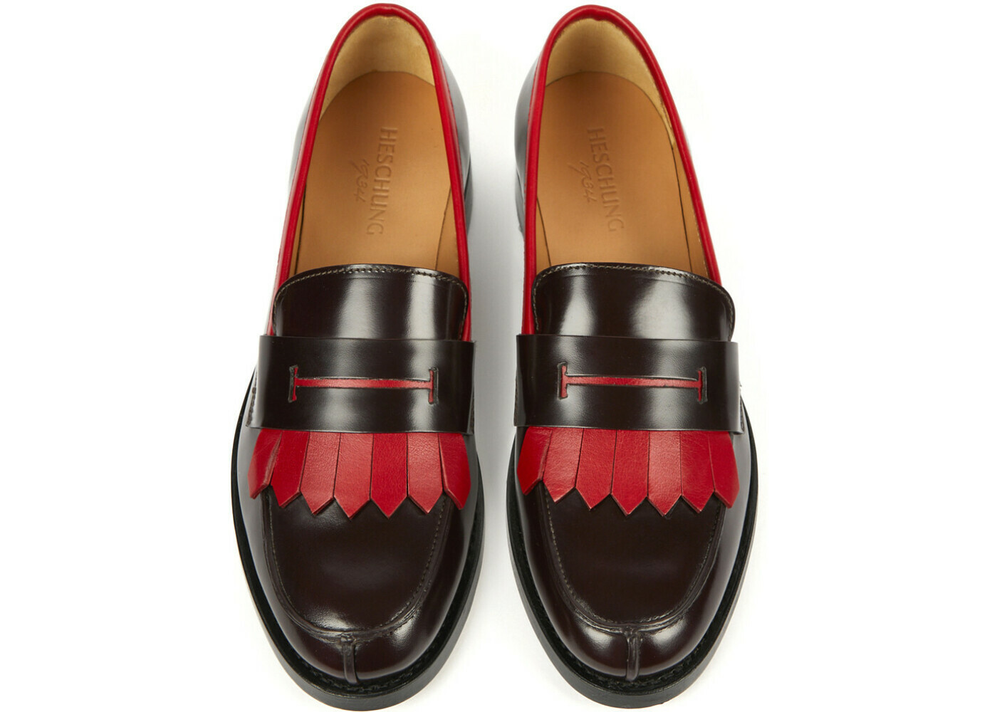 CAMBRIDGE Windsor/Genova Aubergine/Rouge Cuir