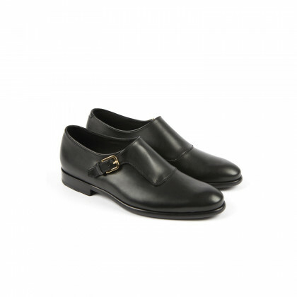 MANHATTAN Black Genova Cuir P