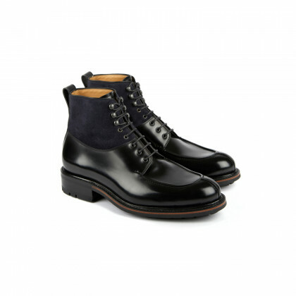BUIS Windsor/Hydrovelours Noir/Navy Commando