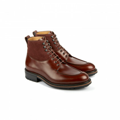 BUIS Tobacco/Burgundy Glacé/Hydrovelours Commando