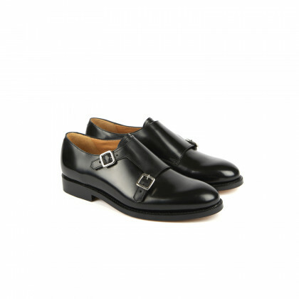 RIMBAUD Windsor noir Cuir