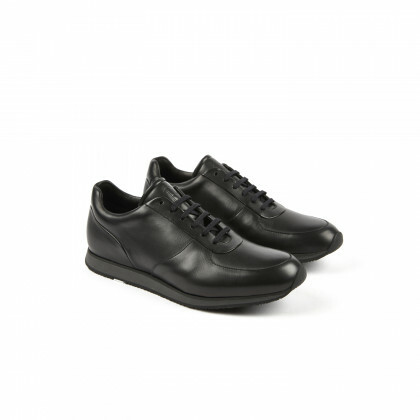 STADIUM Black Softycalf Athletic