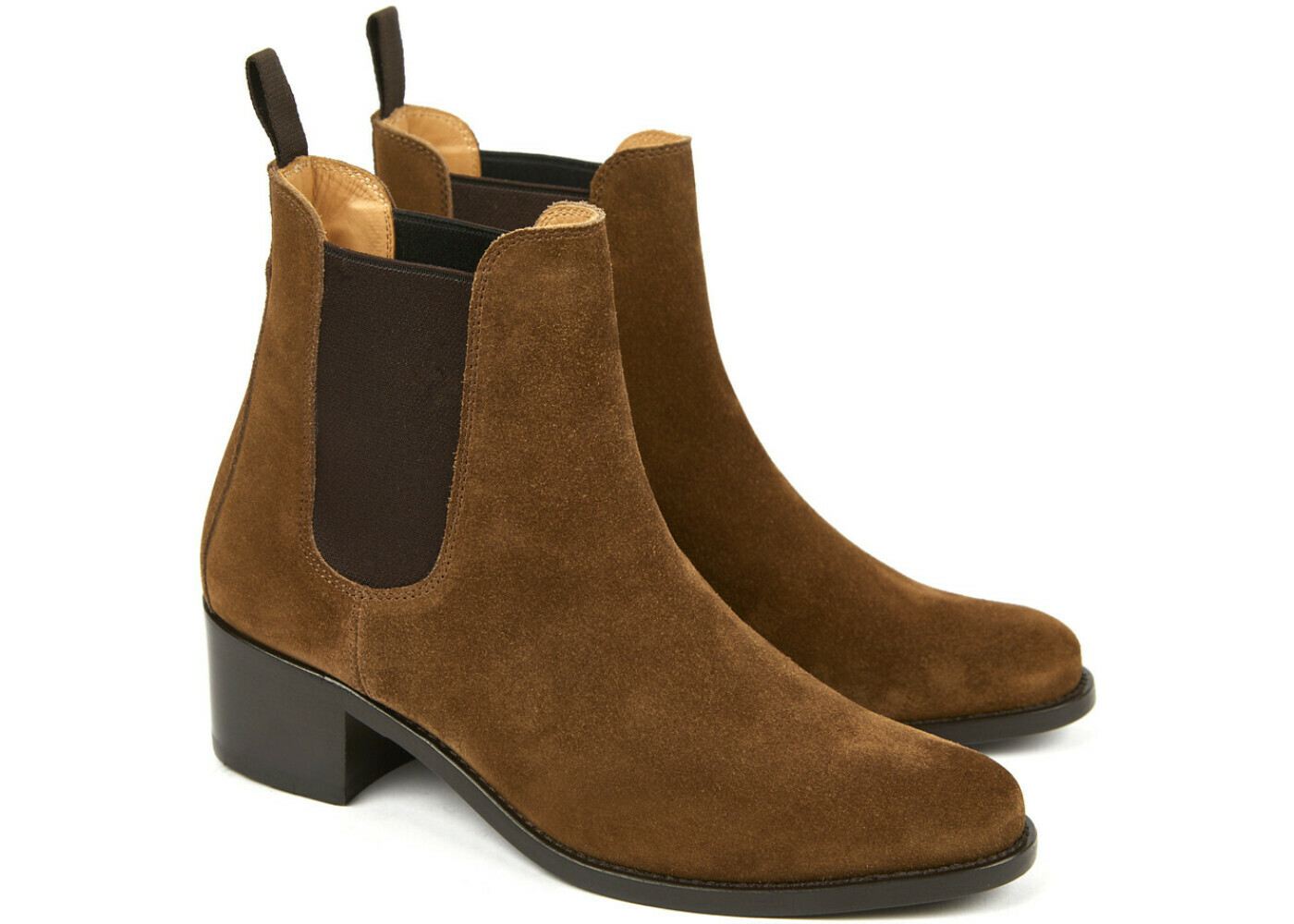 MEGAN Hydrovelours Tabac Cuir