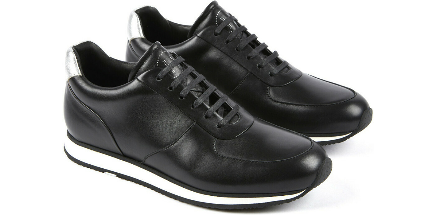 STADIUM FE Biocalf Noir/Argent Athletic