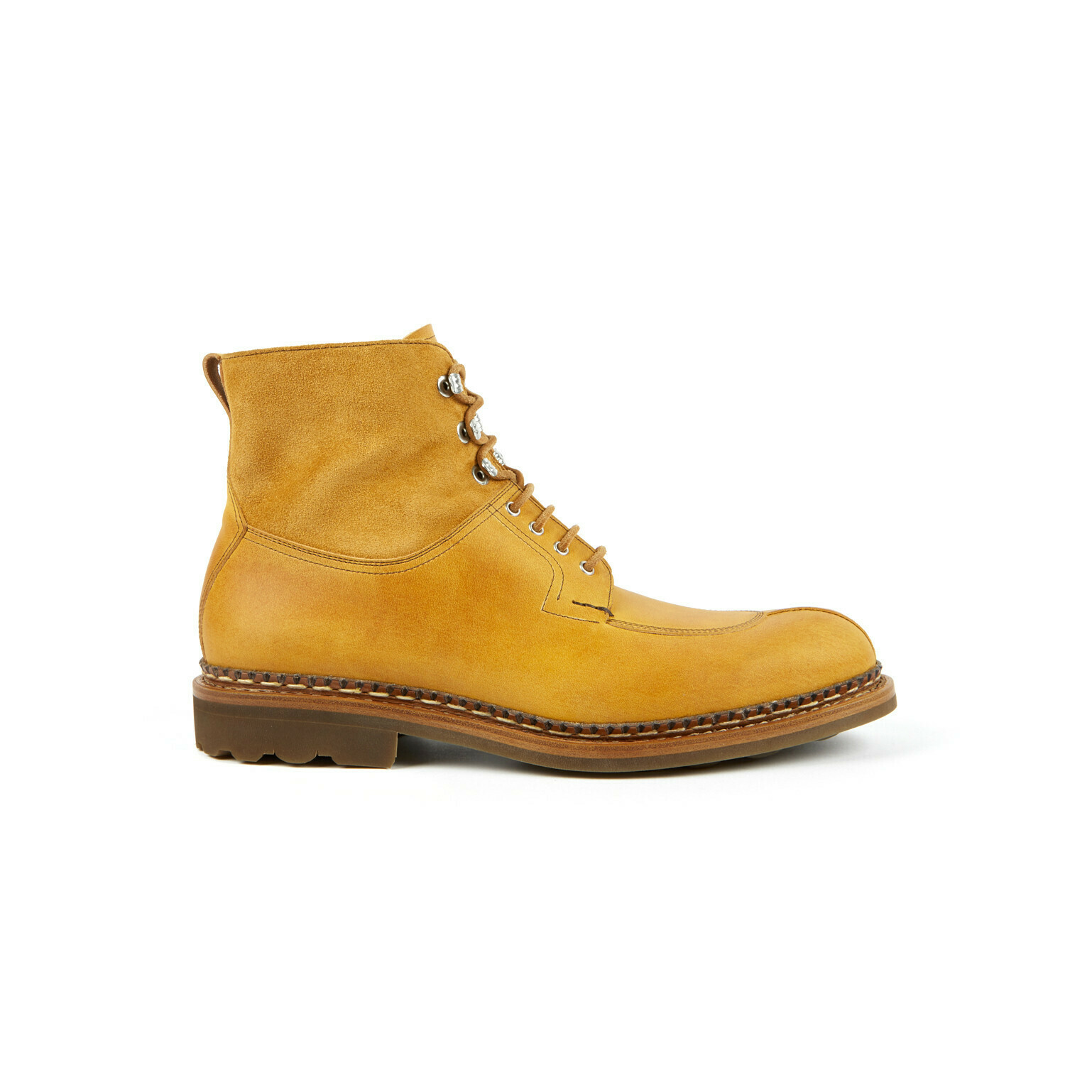 GINKGO Country/Hydrovelours Ocre/Curry Ravel