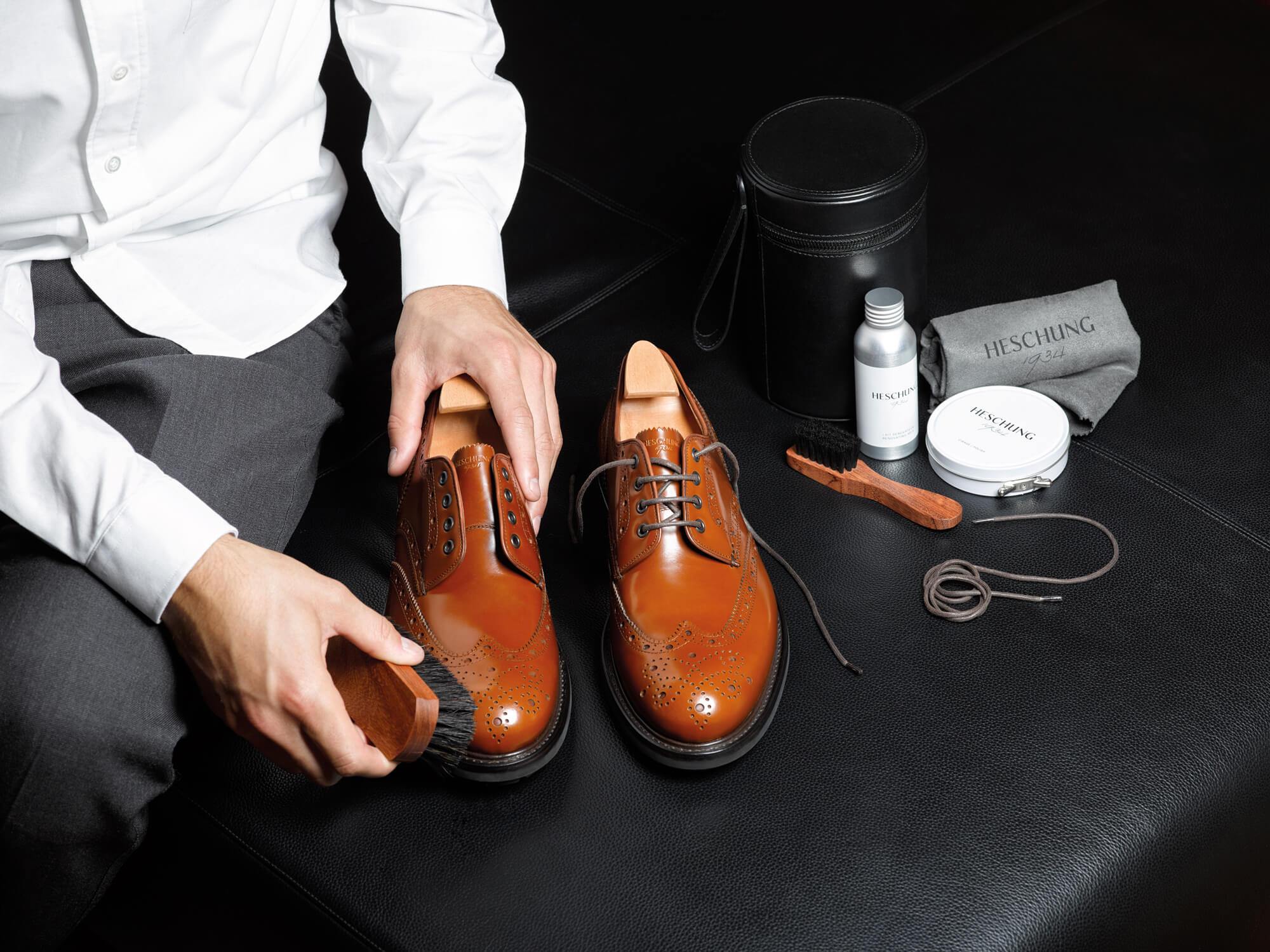 The art of shoe care